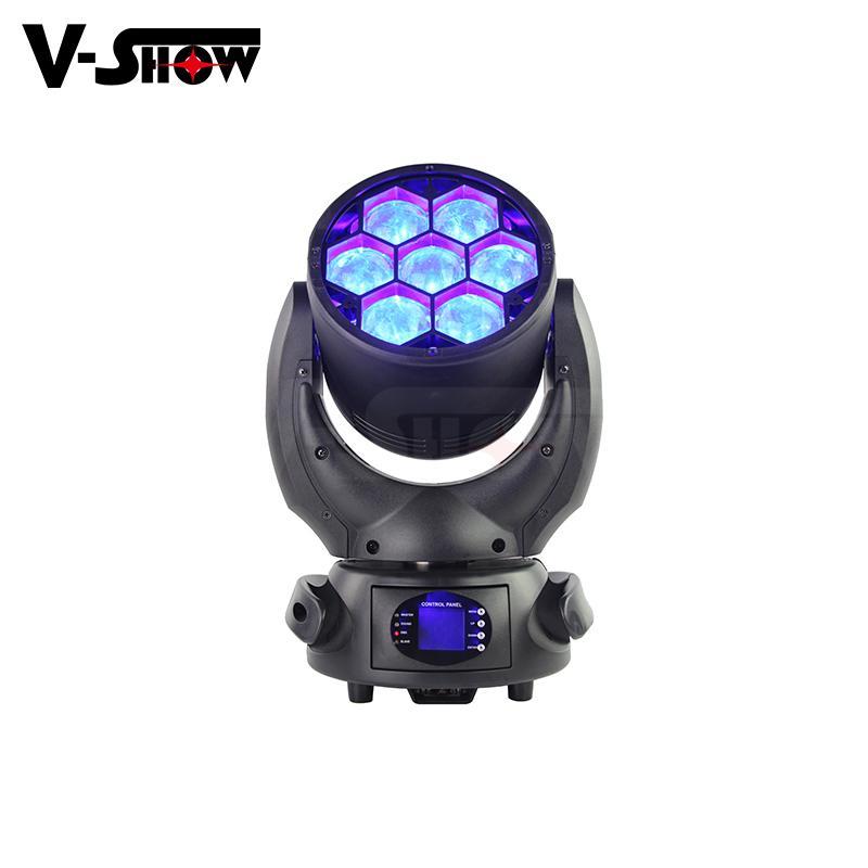 7*40W RGBW Beam wash zoom led moving head light high power moving head