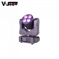 4*40W Beam wash zoom 4pcs 40W RGBW 4in1 LED moving head stage lighting