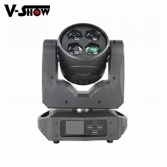 2019 New Design Beam wash zoom 4*40W RGBW LED for Wedding Stage Decoration or DJ