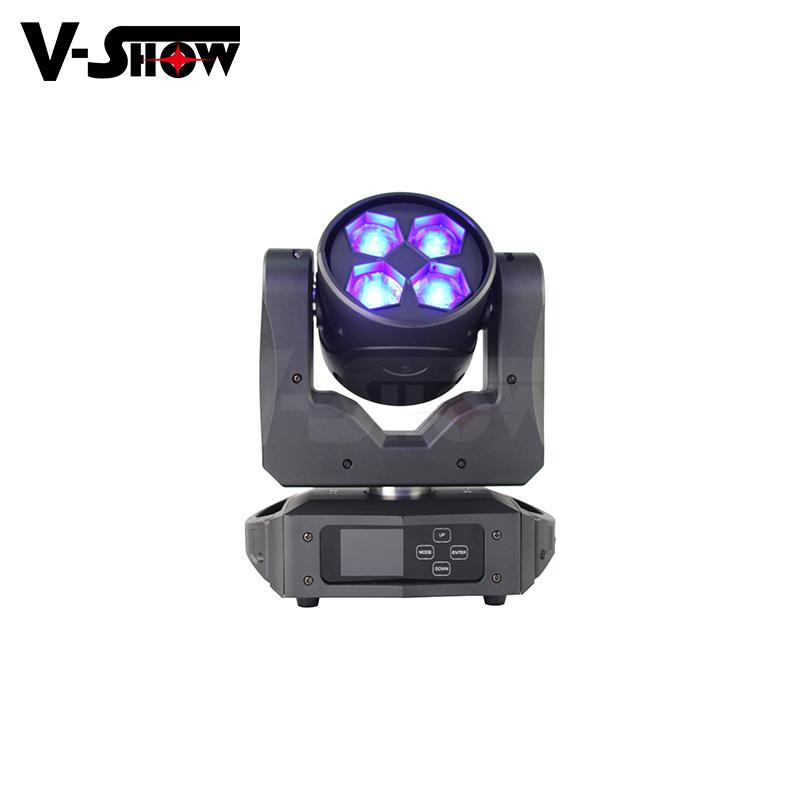 2019 New Design Beam wash zoom 4*40W RGBW LED for Wedding Stage Decoration or DJ 7
