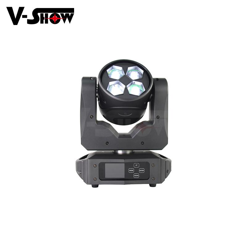 2019 New Design Beam wash zoom 4*40W RGBW LED for Wedding Stage Decoration or DJ 8