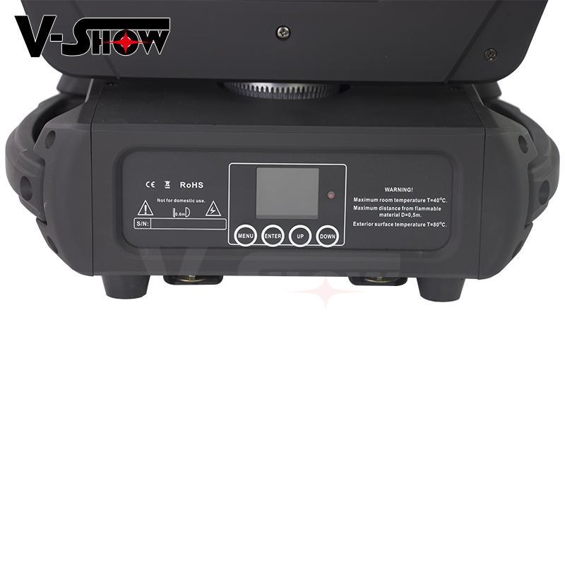 Bar KTV 250W LED Beam Spot Wash Moving Head Light Master-slave mode 6