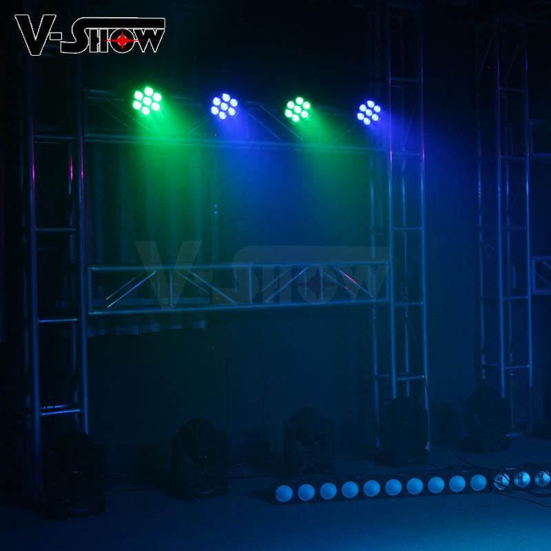 High brightness LED 7X25W RGBWA 5in1 waterproof outdoor par light  9
