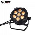 High brightness LED 7X25W RGBWA 5in1 waterproof outdoor par light  2