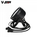 High brightness LED 7X25W RGBWA 5in1 waterproof outdoor par light