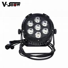 High brightness LED 7X25W RGBWA 5in1 waterproof outdoor par light