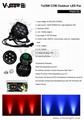 High brightness LED 7X25W RGBWA 5in1 waterproof outdoor par light  6