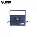 New 3W RGB Laser Animation Light Stage Laser Projector Light DMX ILDA DJ Disco