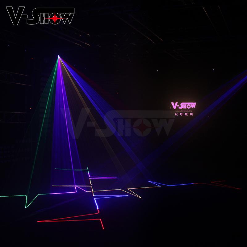 New 1W RGB Laser Animation Stage Light Party Light for KTV Disco  7