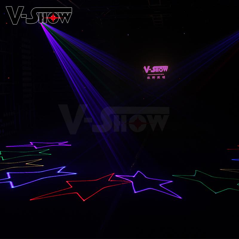 New 1W RGB Laser Animation Stage Light Party Light for KTV Disco  8