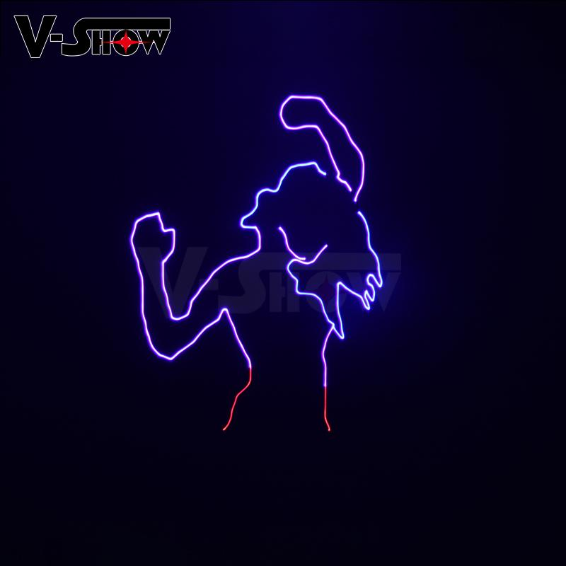 New 1W RGB Laser Animation Stage Light Party Light for KTV Disco  10