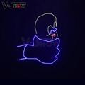 3W RGB Animation Laser Light Writing DJ Disco Stage Laser Light