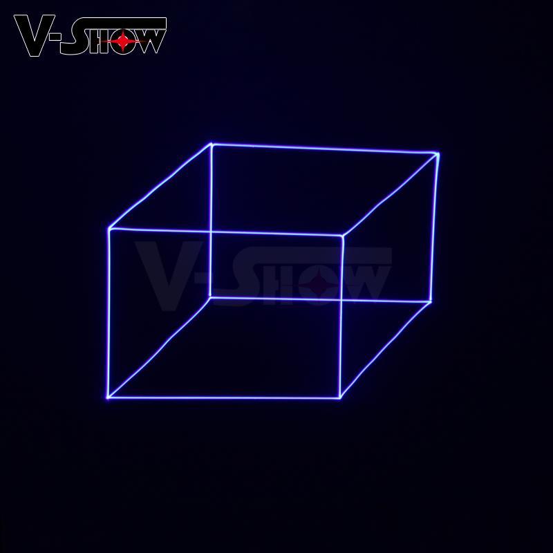 3W RGB Animation Laser Light Writing DJ Disco Stage Laser Light  6