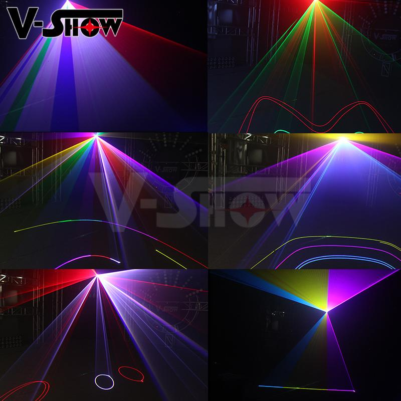 3W RGB Animation Laser Light Writing DJ Disco Stage Laser Light  7