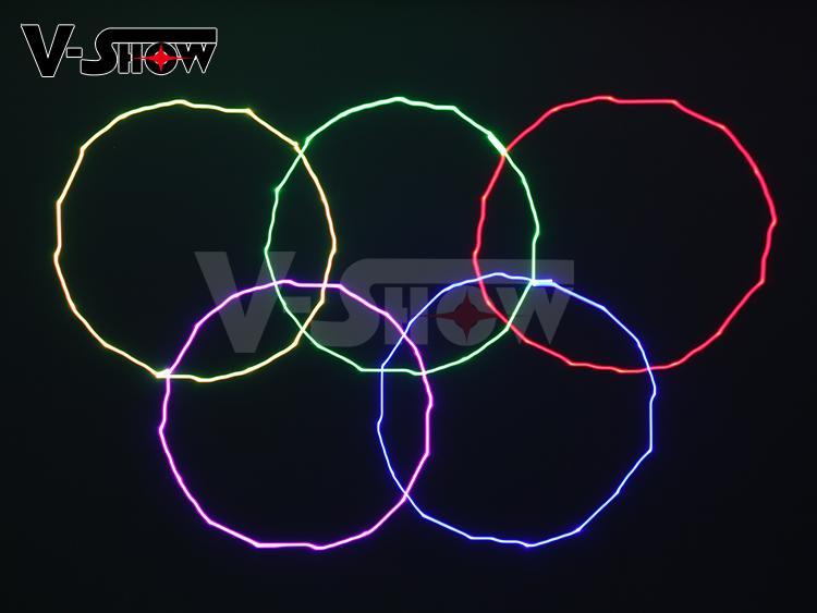 New arrived 6W RGB Animation LaserBar Club Disco laser light 6