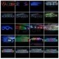 LED Pexil light Colorful Fence Tube Waterproof Line Light Neon Tube
