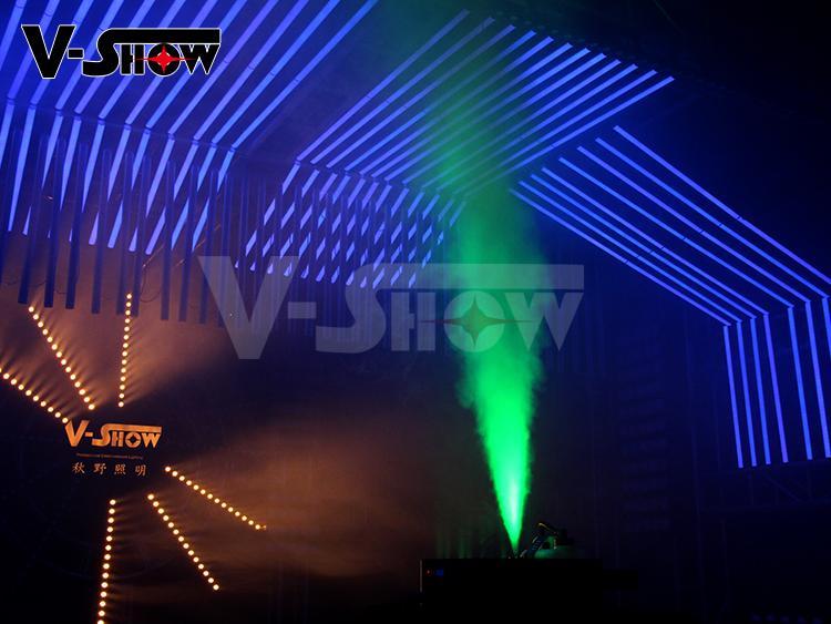 Spray Fogger Machine 1700W LED Fog Jet Machine Special Smoke Machine 9