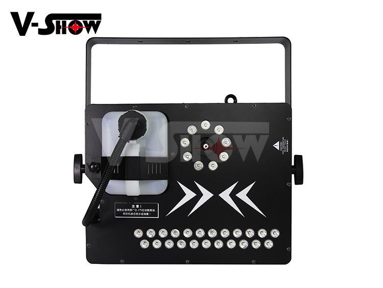 Spray Fogger Machine 1700W LED Fog Jet Machine Special Smoke Machine 2