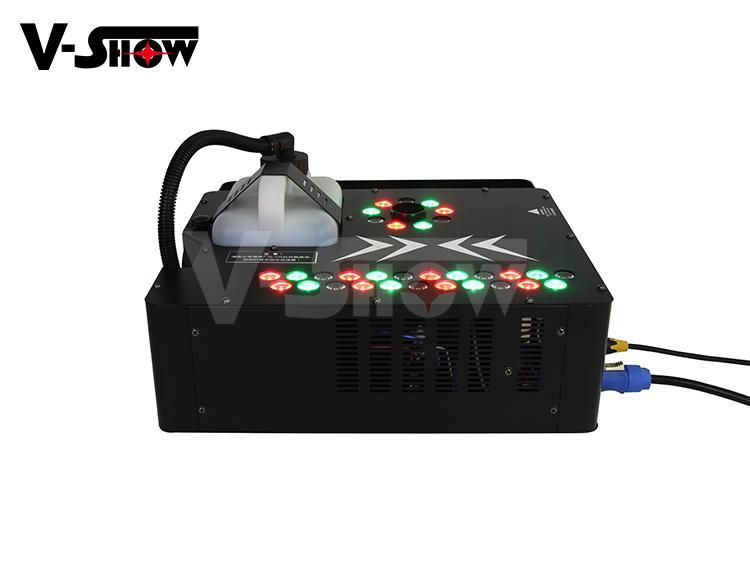 Spray Fogger Machine 1700W LED Fog Jet Machine Special Smoke Machine 1