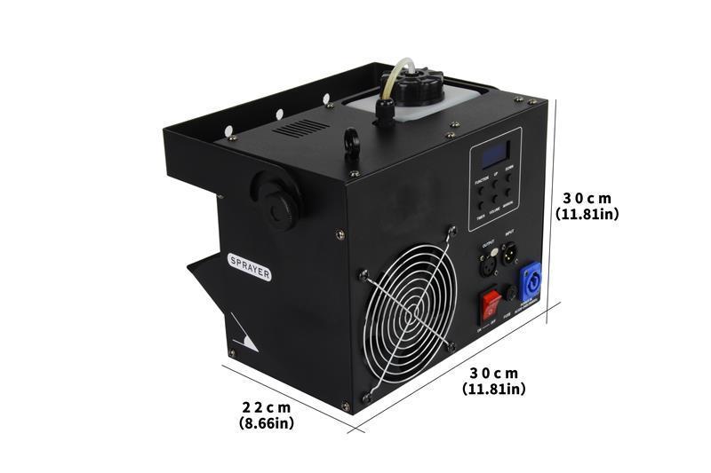 700W Small Fog Machine Spot Light Laser Light Stage Effect Smoke Machine 7