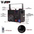 700W Small Fog Machine Spot Light Laser Light Stage Effect Smoke Machine 8