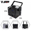 Mini Fog Machine 500w Wedding Stage KTV DMX Remote Control Spray Smoke Machine 8