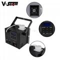 Mini Fog Machine 500w Wedding Stage KTV DMX Remote Control Spray Smoke Machine 7