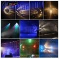 Mini Fog Machine 500w Wedding Stage KTV DMX Remote Control Spray Smoke Machine 10