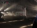 Mini Fog Machine 500w Wedding Stage KTV DMX Remote Control Spray Smoke Machine 9