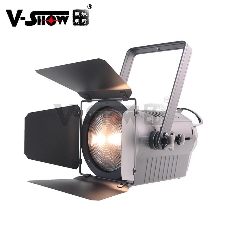 LED Fresnel FSP200 Spotlight 200W with Manual zoom 200WLEDFresnelSpotlight