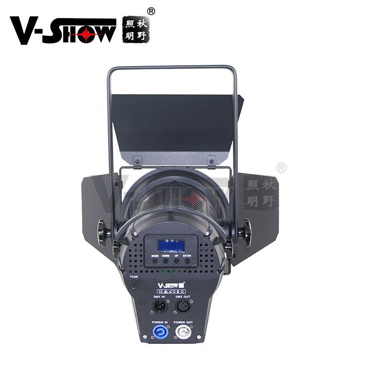 LED Fresnel FSP200 Spotlight 200W with Manual zoom 200WLEDFresnelSpotlight 4