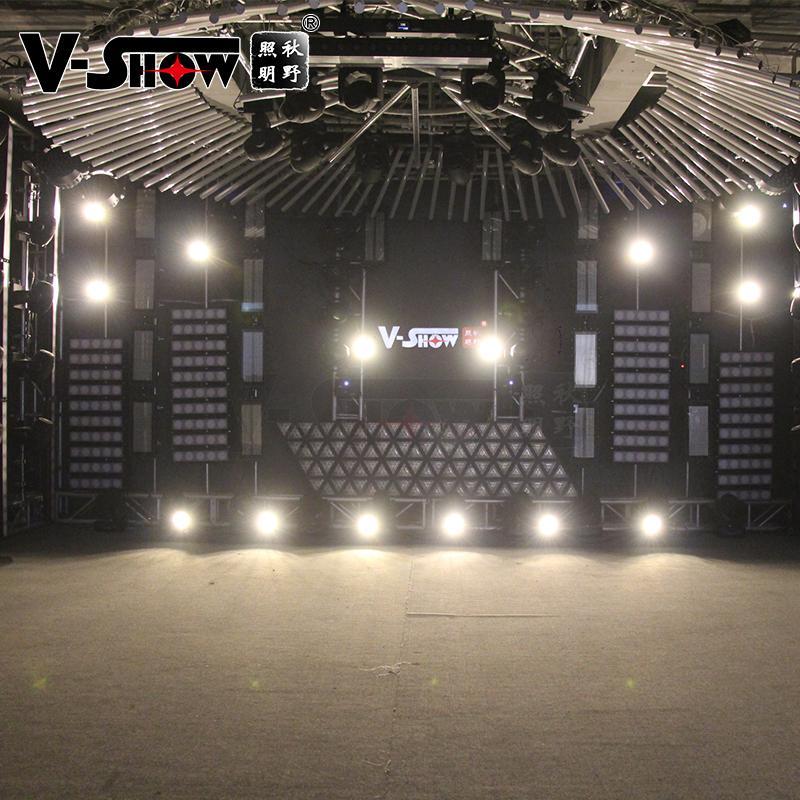 V-Show 40W Retro RGBW COB par for dj disco 10