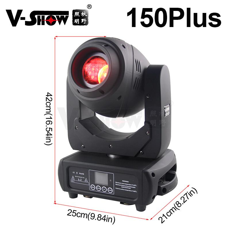 New Style 150w spot moving head light 3 prism dmx control lamp 17 Beam Angle for 1
