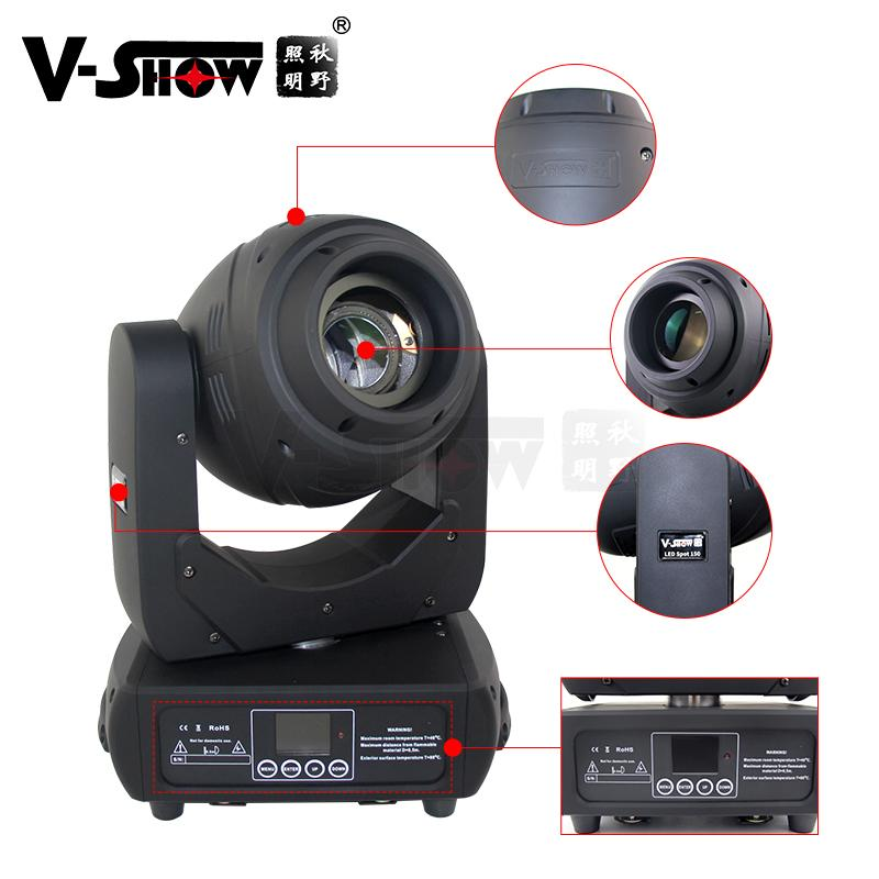 New Style 150w spot moving head light 3 prism dmx control lamp 17 Beam Angle for 2