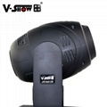 New Style 150w spot moving head light 3 prism dmx control lamp 17 Beam Angle for 5