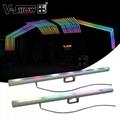 16pcs with Controller 5050SMD RGB 3 in 1 LEDS indoor led pixel bar light/ led pi