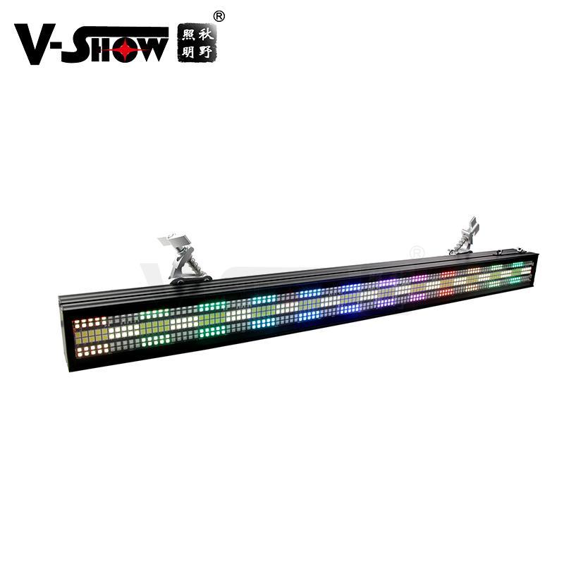 V-SHOW NEW arrive 240pcs 5W 7575+480pcs 0.3W RGB 3in1 SMD led pixel controller w 1