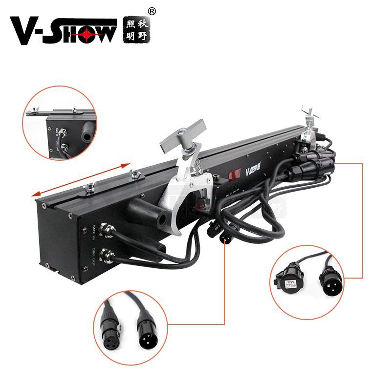 V-SHOW NEW arrive 240pcs 5W 7575+480pcs 0.3W RGB 3in1 SMD led pixel controller w 3