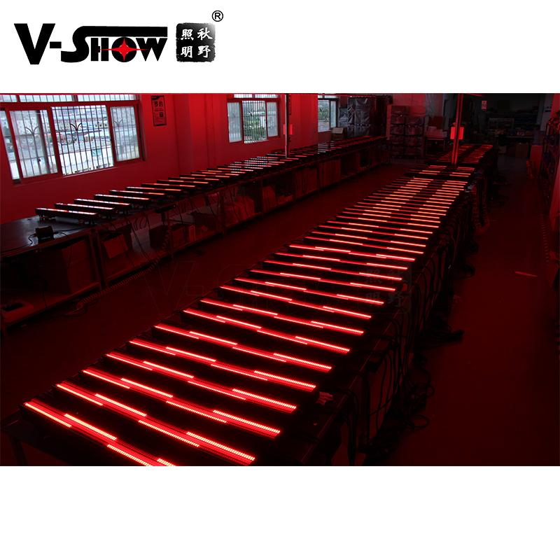 V-SHOW NEW arrive 240pcs 5W 7575+480pcs 0.3W RGB 3in1 SMD led pixel controller w 11