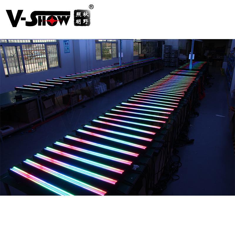 V-SHOW NEW arrive 240pcs 5W 7575+480pcs 0.3W RGB 3in1 SMD led pixel controller w 13