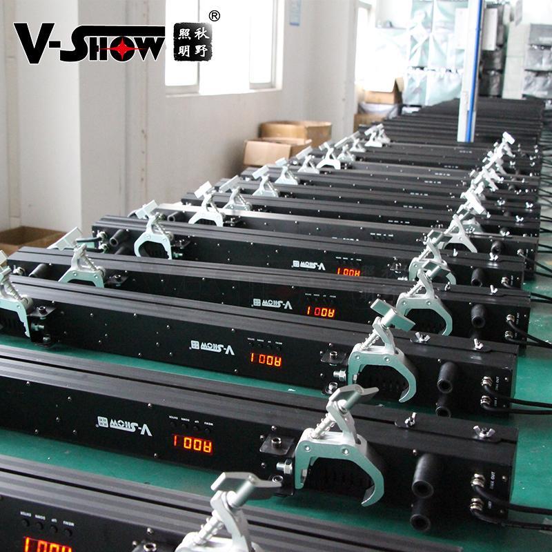 V-SHOW NEW arrive 240pcs 5W 7575+480pcs 0.3W RGB 3in1 SMD led pixel controller w 10