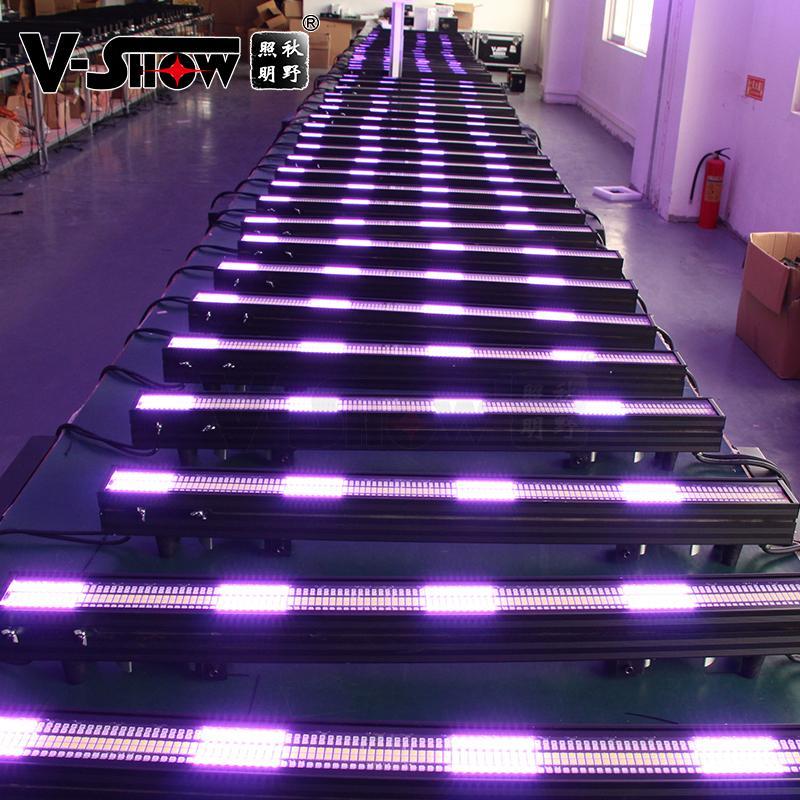 V-SHOW NEW arrive 240pcs 5W 7575+480pcs 0.3W RGB 3in1 SMD led pixel controller w 14