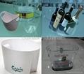 Large Wine Bottle Ice Buckets