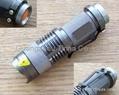 Zoomable LED Flashlight