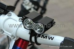 BIKE LIGHT,2*XM-L U2 LED
