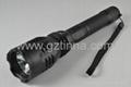 Long-throw flashlight