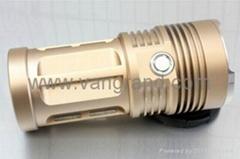 高亮3燈T6強光手電