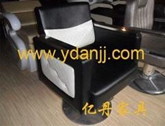 不鏽鋼扶手美髮椅102