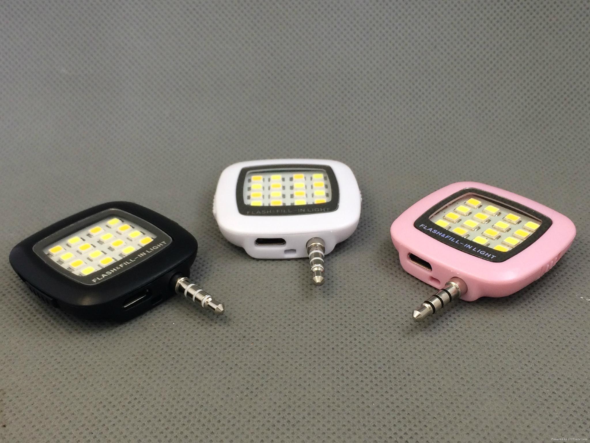 手機LED補光燈 2