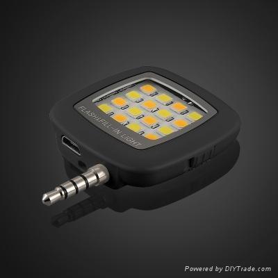 手機LED補光燈 3
